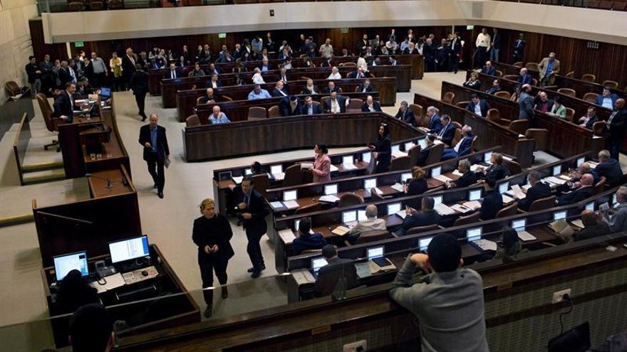 Parlamentarios israelíes piden descartar la solución de dos estados