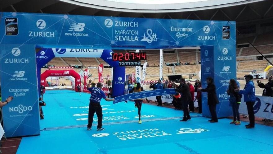 La maratón Ciudad de Sevilla sigue creciendo.