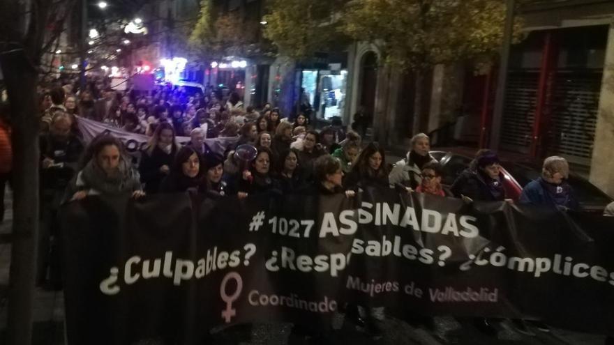 Manifestación del 25N en Valladolid