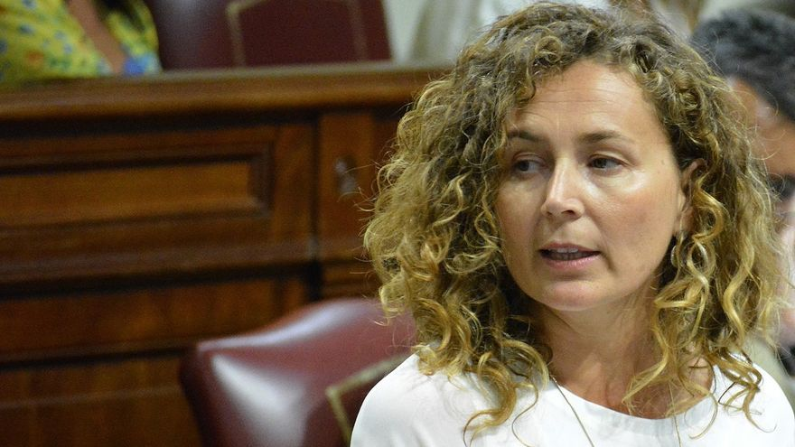 Ornella Chacón, en un retrato de archivo de su etapa como consejera de Obras Públicas en el Gobierno de Canarias