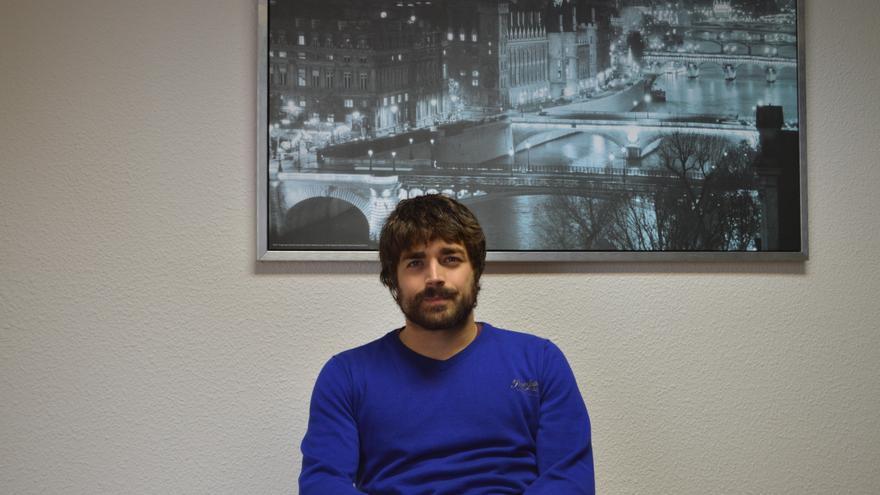 Diego Cobo, periodista santanderino.