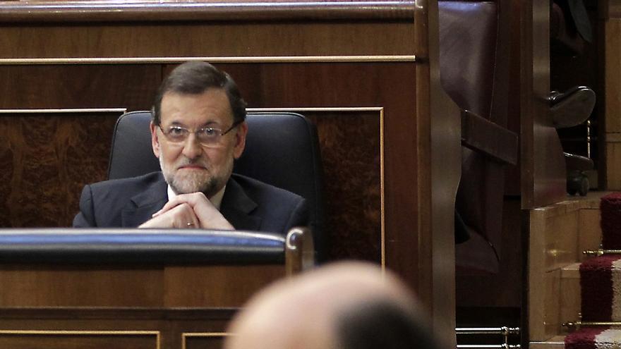 """Rajoy asegura estar """"sustancialmente de acuerdo"""" con Rubalcaba en materia europea"""