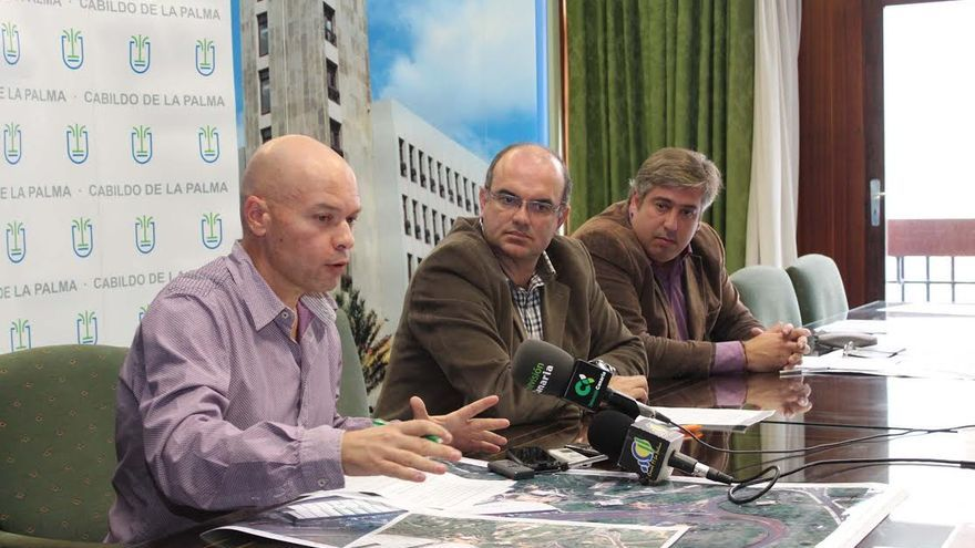 En la imagen, presentación del proyecto este viernes en el Cabildo.