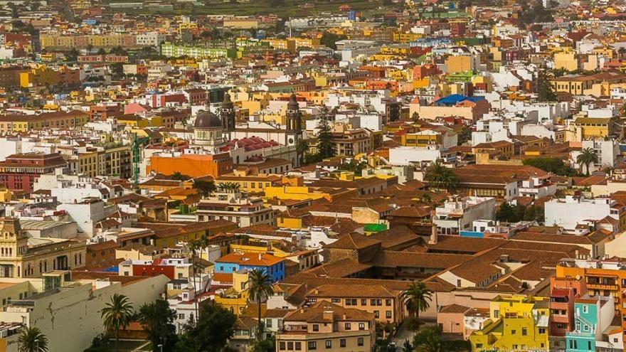Casco urbano de San Cristóbal de La Laguna