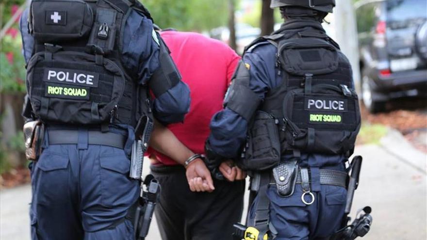 Detienen a dos presuntos yihadistas en Sídney como parte de un gran operativo