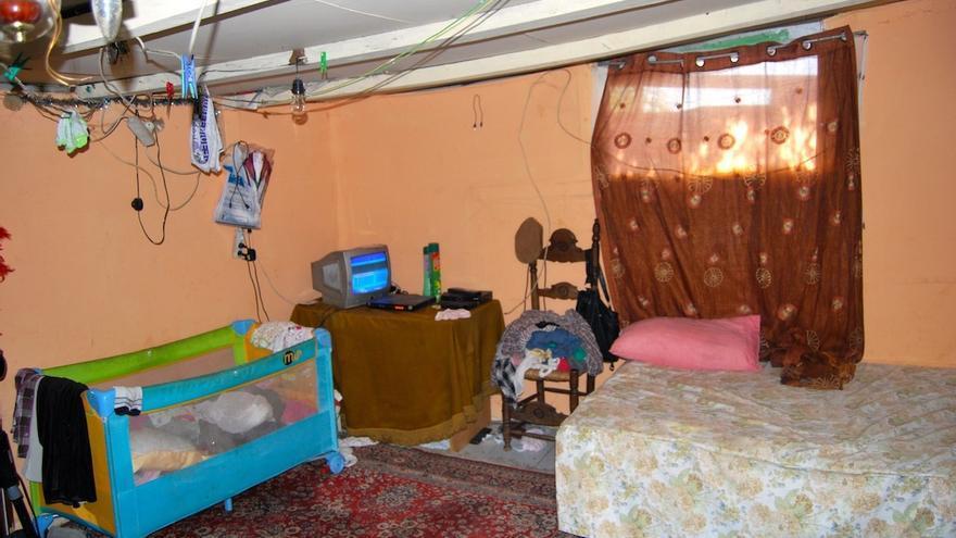 Interior de vivienda en El Gallinero