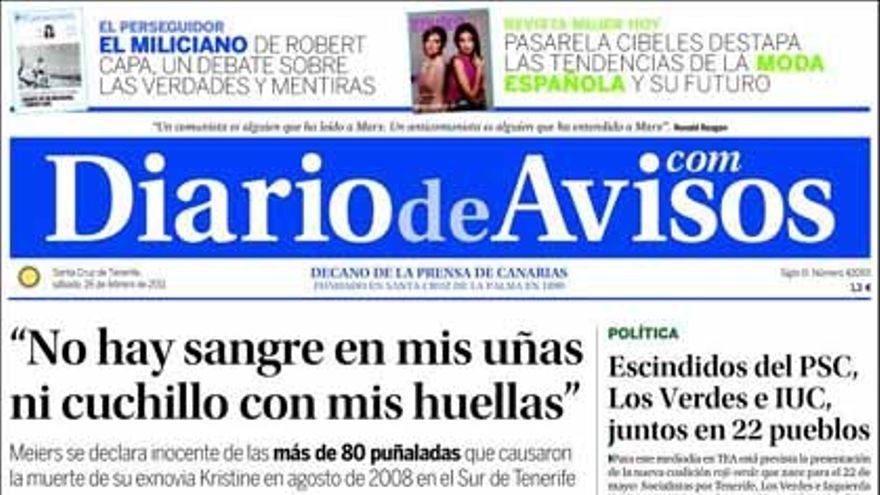 De las portadas del día (26/02/2011) #3