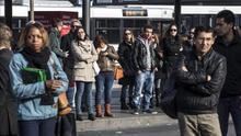 Italia se sume en el caos por la huelga de sus transportes públicos