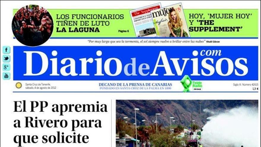 De las portadas del día (4/08/2012) #3