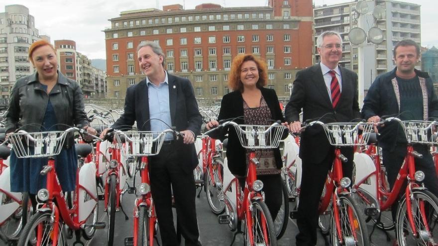 """Bilbao invierte 60.335 euros en 105 bicicletas como """"apuesta clara"""" por este transporte público"""