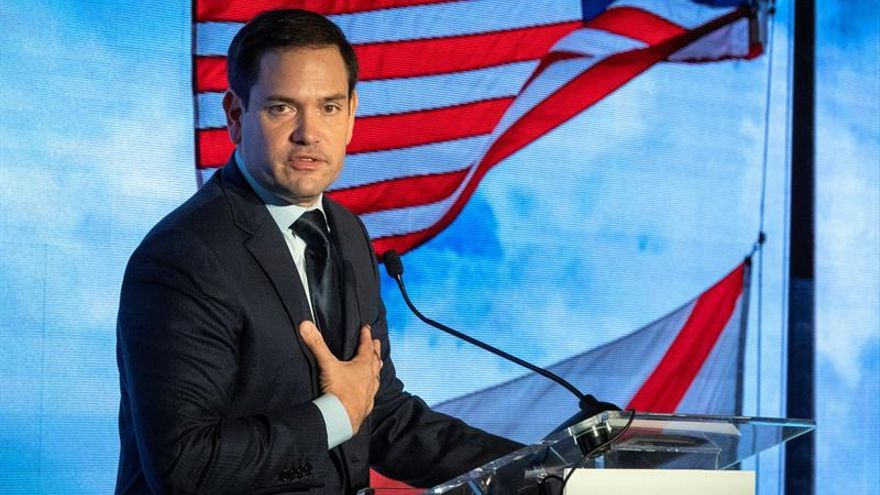 US Senator from Florida Marco Rubio.