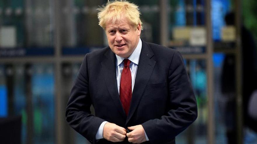El primer ministro británico, Boris Johnson, llega a Manchester, Reino Unido, hoy 01 October 2019.
