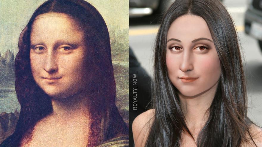 La Mona Lisa/ Becca Saladin