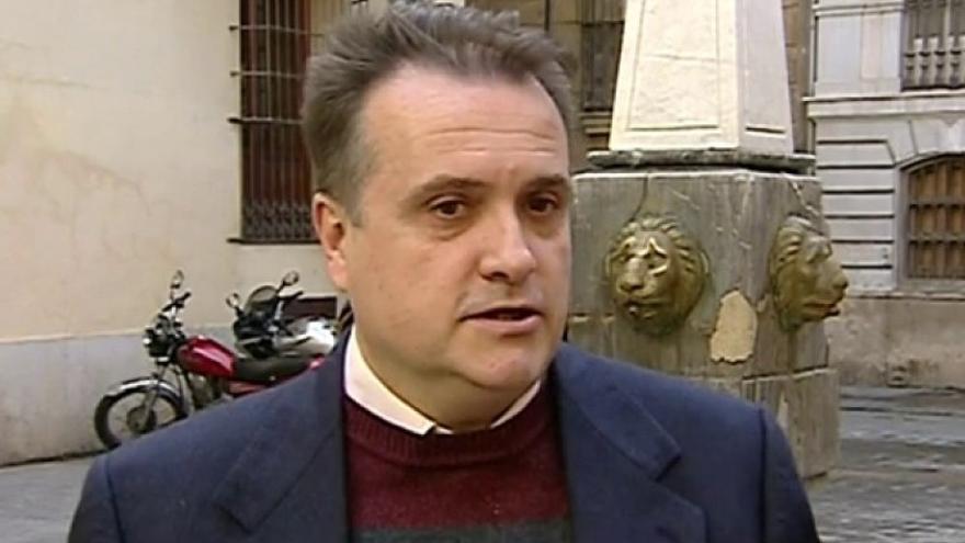 Carles Recio en una entrevista concedida a La Sexta