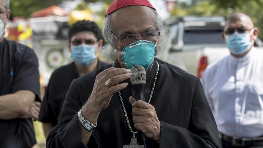 """Cardenal de Nicaragua llama a jóvenes a imitar al """"patrón de la web"""""""
