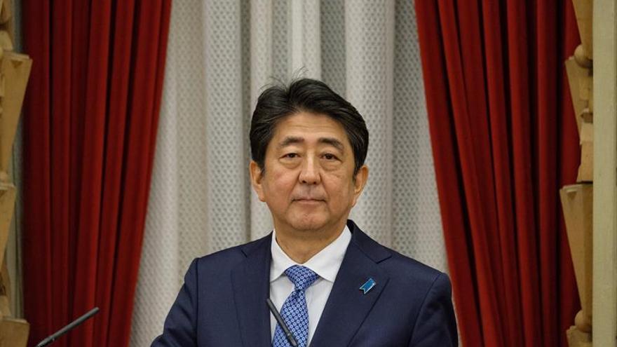 El Parlamento japonés reelige a Shinzo Abe como primer ministro