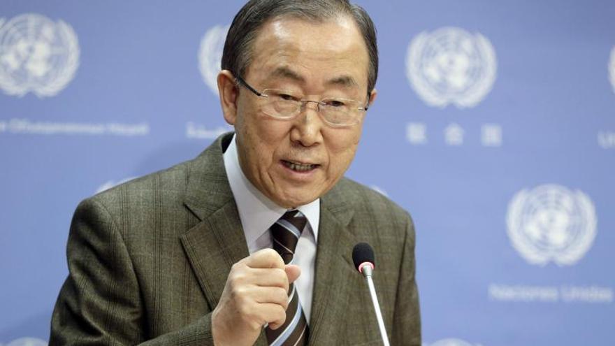 Ban invita a Irán a la conferencia de paz para Siria
