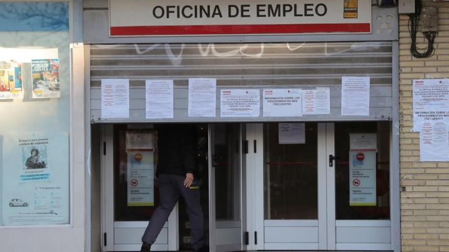 Imagen de archivo de una oficina pública de empleo.