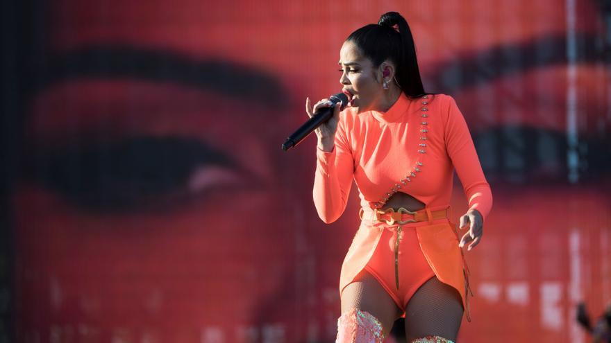 La dominicana Natti Natasha anuncia desde Puerto Rico un nuevo álbum