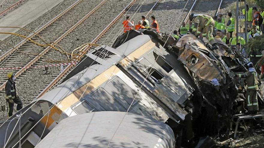Siete heridos permanecen aún en hospitales de Vigo tras el accidente de tren