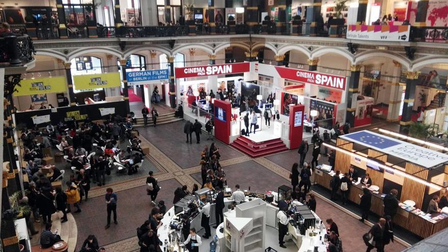 Mercado profesional del Festival de Cine de Berlín.