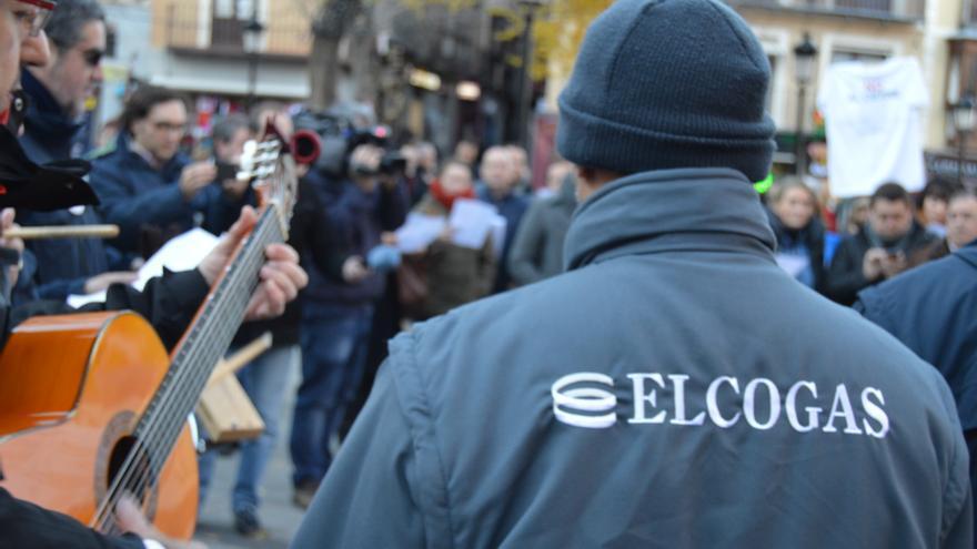 Trabajador de Elcogás (Puertollano, Ciudad Real) / Foto: Javier Robla