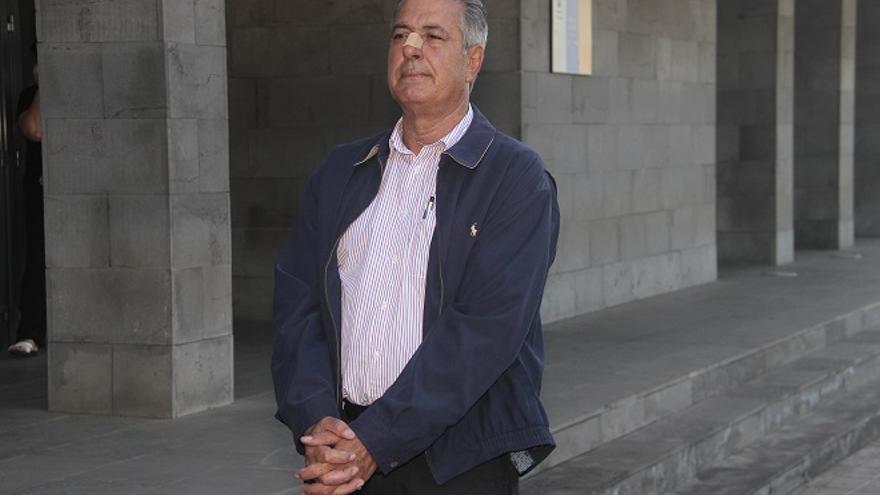 José Francisco Reyes, ex alcalde de Yaiza.