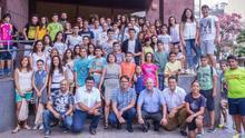 Clausura de los Juegos Escolares de La Gomera 2014/2015