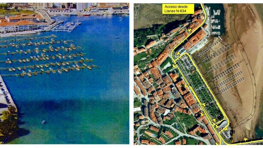 Proyecto de puerto deportivo de San Vicente de la Barquera.