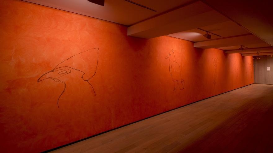 Exposición 'Joan Jonas: caudal o río, vuelo o ruta' en la Fundación Botín