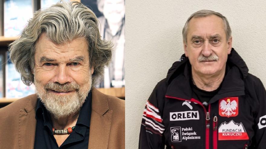Reinhold Messner y Krzysztof Wielicki.