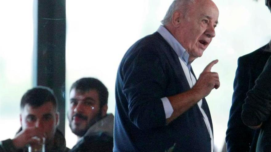 Las mayores fortunas de España, encabezadas por Amancio Ortega, crecen el 2 por ciento