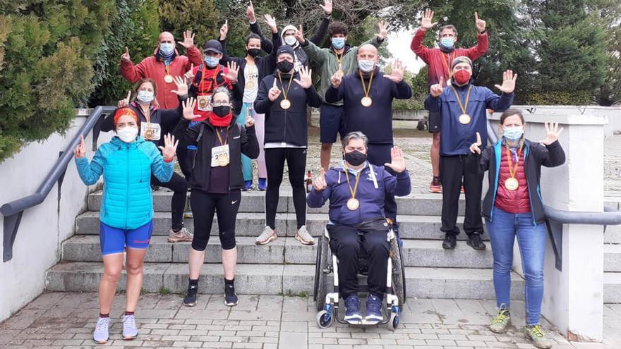 Participantes de la Anantapur Ultramaratón 2021 en Córdoba.