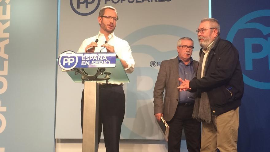 """El PP subraya la respuesta """"rápida"""" y """"contundente"""" del Gobierno y destaca que el TC da """"tranquilidad"""" con la suspensión"""