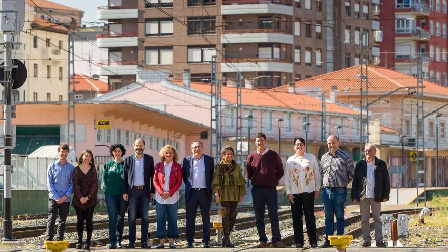 Cruz Viadero propone crear una gran avenida en los espacios liberados con el soterramiento de las vías