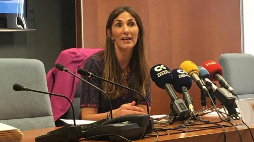 La delegada especial de la Agencia Estatal de Administración Tributaria en Canarias, Carmen Guillén Prieto