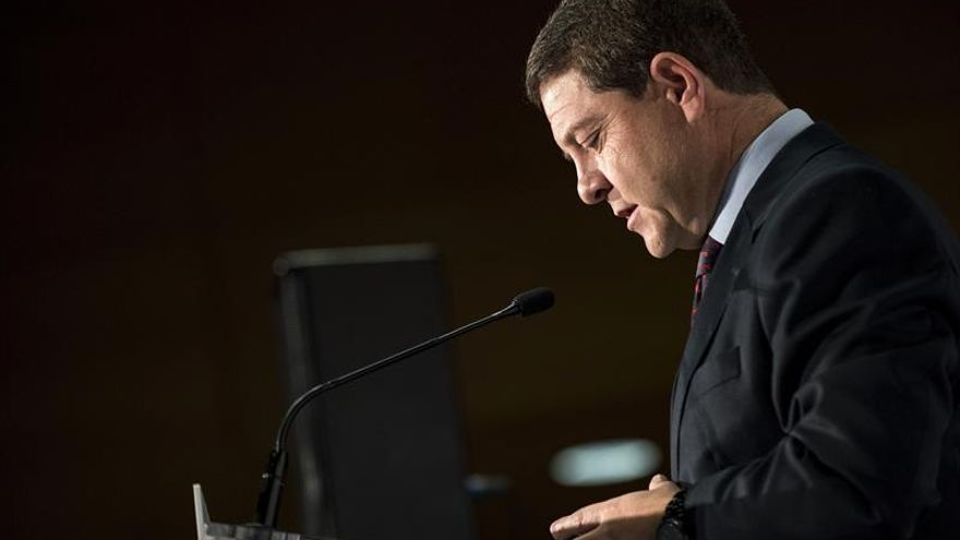 García-Page achaca bloqueo político a independentistas catalanes y no al PSOE