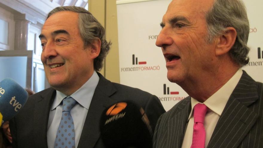 Rosell da las vicepresidencias de CEOE a las patronales de Madrid, Cataluña y Comunidad Valenciana