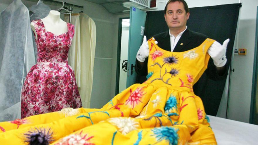 Mariano Camio, con un traje de la colección Balenciaga