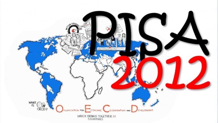Logo del informe PISA 2012, que hará públicos sus resultados en unos días