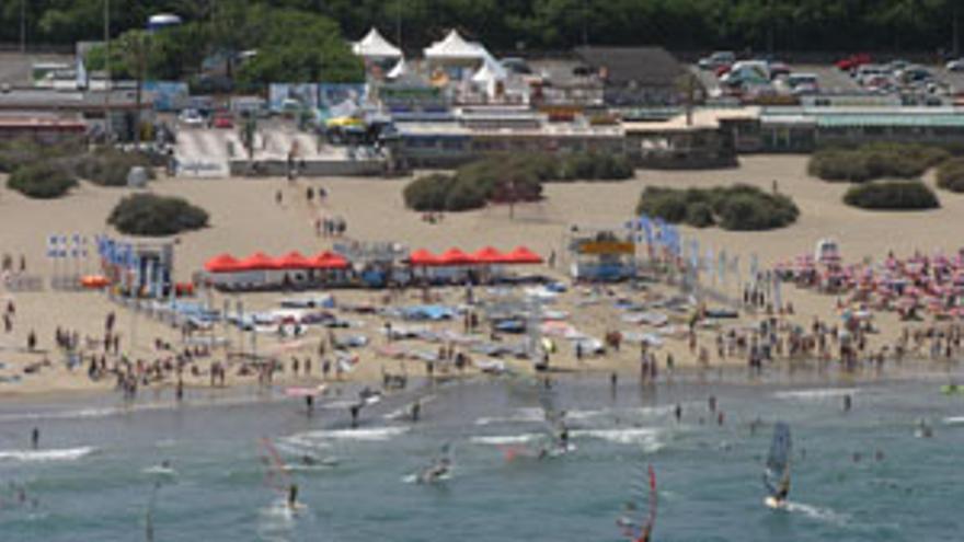 Playa del Inglés. (CANARIAS AHORA)