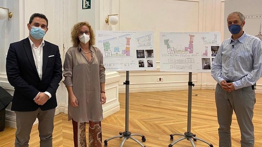 Presentación del proyecto de restauración del palacio