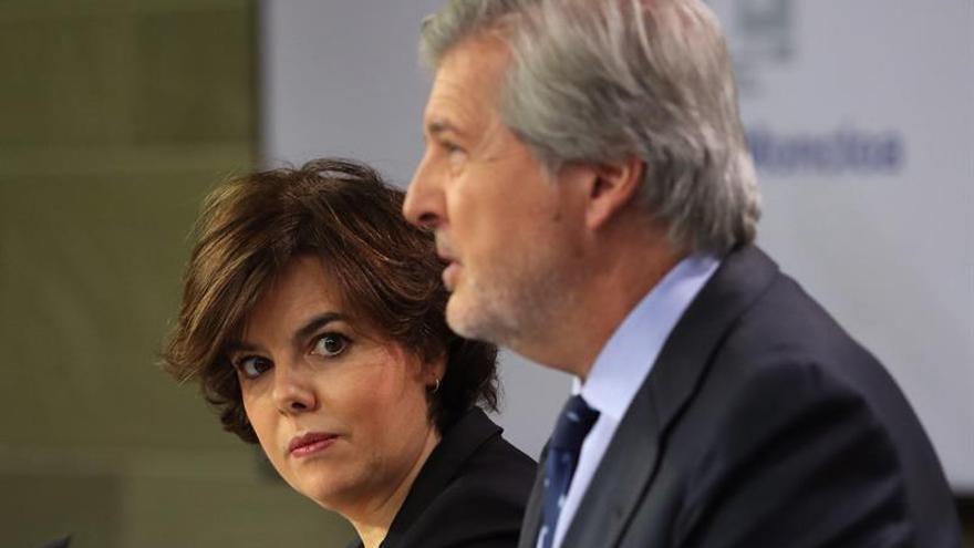 """El Gobierno confía en que tras el 21D su interlocutor en Cataluña """"una, no divida"""""""