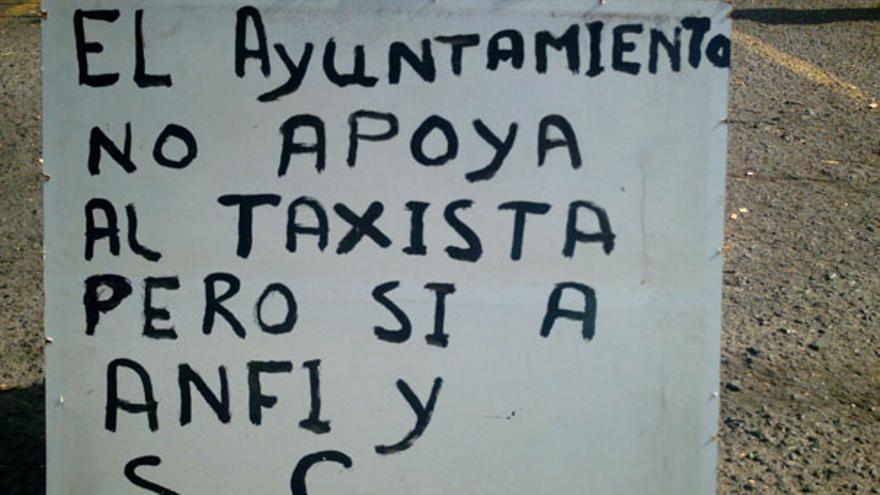 De los taxistas frente a Anfi #3