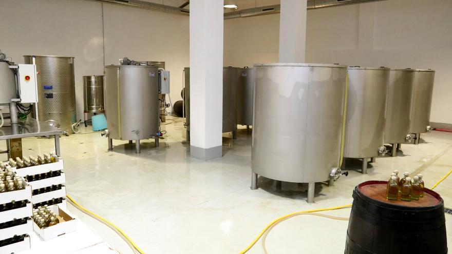 Fábrica de vinagre de Valleseco
