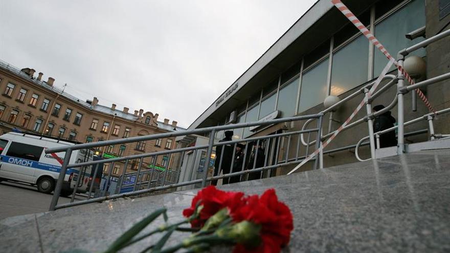 Vuelven a cerrar la estación de metro de San Petersburgo tras un aviso de bomba