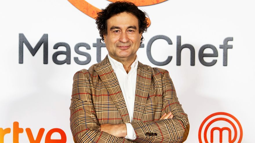 Pepe Rodríguez, en la presentación de 'MasterChef 9'