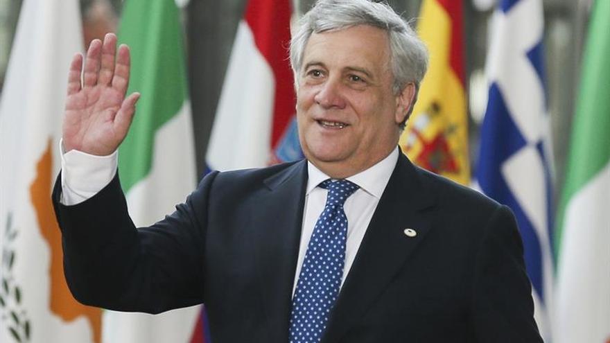 Tajani agradece a Rajoy el Premio Princesa de Asturias a la UE