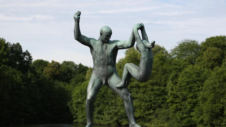 El parque Vigeland, también conocido como el parque de las esculturas, en Oslo / C.C.