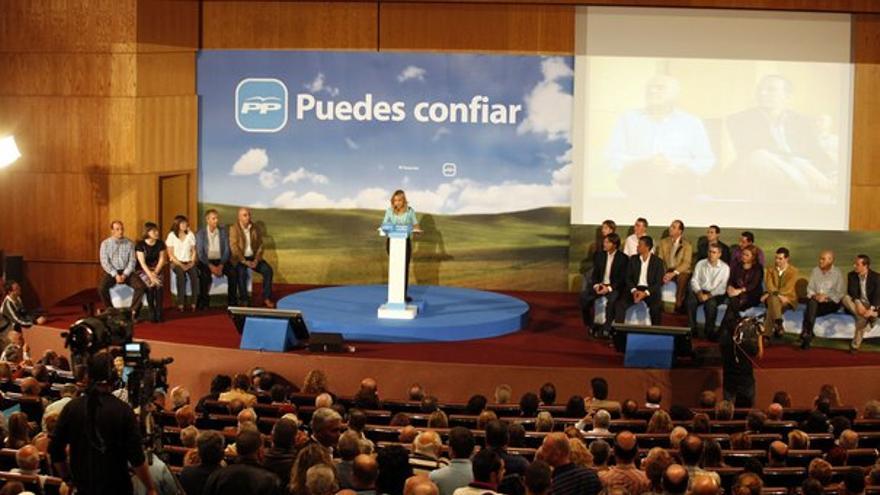 Del acto del PP canario con Rajoy #4